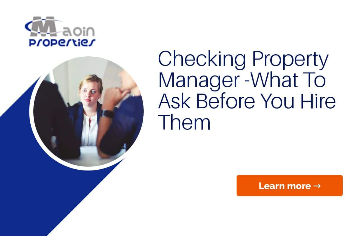 Checking your Property Manager Credentials